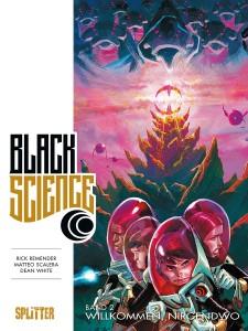Black Science Band 2 Willkommen, nirgendwo von Rick Remender und Matteo Scalera Comickritik