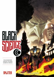 Black Science Band 3 Fluchtmuster von Rick Remender und Matteo Scalera Comickritik