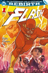 Flash Sonderband 1 Die Flash-Akademie von Joshua Williamson, Carmie Di Giandomenico und Neil Googe Comickritik