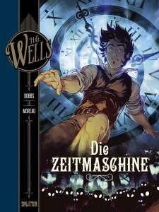 H.G. Wells Band 1 Die Zeitmaschine von Dobbs und Mathieu Moreau Comickritik