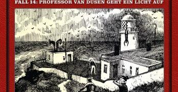 Professor van Dusen Fall 14 Professor van Dusen geht ein Licht auf Hörspielkritik