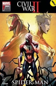 Civil War II Sonderband 1 Spider-Man von Christos Gage und Travel Foreman