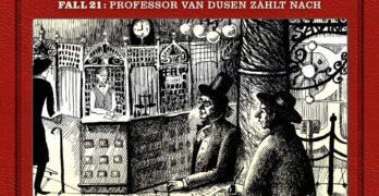 Professor van Dusen Fall 21 Professor van Dusen zählt nach Hörspielkritik