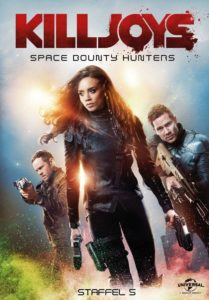 Killjoys Space Bounty Hunter Staffel 5 Blu-ray Kritik