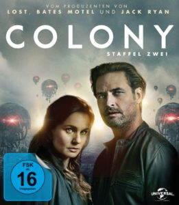Colony Staffel 2 Blu-ray Kritik
