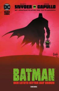 Batman Der letzte Ritter auf Erden von Scott Snyder und Greg Capullo Comickritik