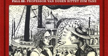 Professor van Dusen Fall 22 Professor van Dusen bittet zum Tanz Hörspielkritik