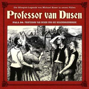 Professor van Dusen Fall 24 Professor van Dusen und die Regenbogenmorde Hörspielkritik