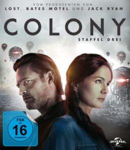 Colony Staffel 3 Blu-ray Kritik