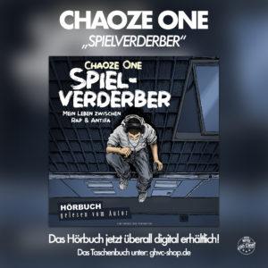 © Grand Hotel van Cleef - Chaoze One - Spielverderber - Mein Leben zwischen Antifa und Rap