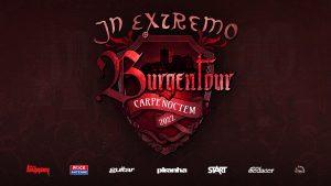 In Extremo kommenden auf Carpe Noctem Burgentour 2022